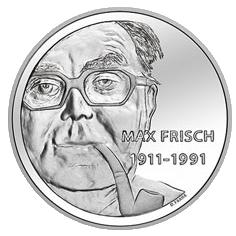 Max-Frisch-Gedenkmünze